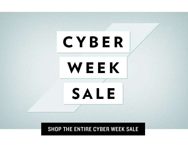 Shop Entire Cyber Monday Sale