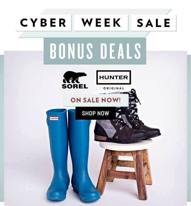 Shop Hunter & Sorel