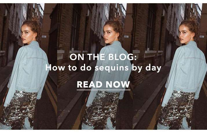 How to do sequins by day -  Read now