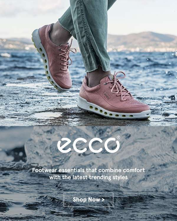 NEW IN: Ecco - Footwear essentials that combine comfort with the latest trending styles