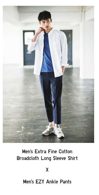 Men's Extra Fine Cotton Broadcloth Long Sleeve Shirt