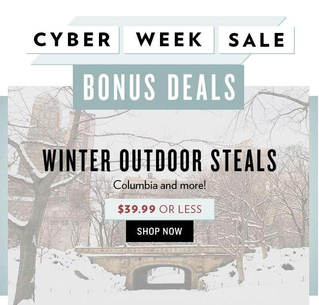 $39.99 or Less Winter Deals