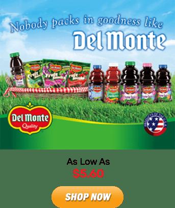 Del Monte: As Low As $5.60. Shop Now!