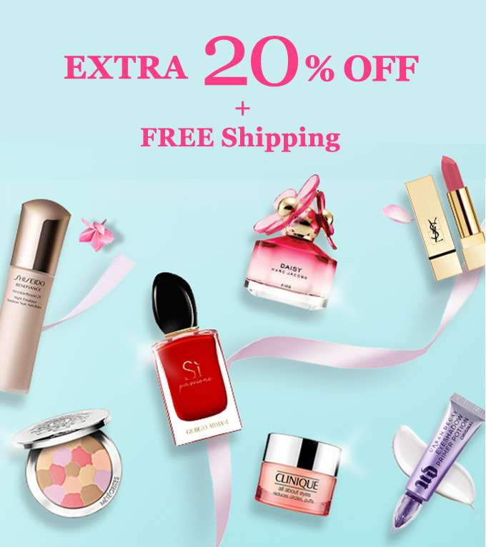 Get Extra 20% Off + Free Int'l Shipping! Offer Ends 02 Dec 2018