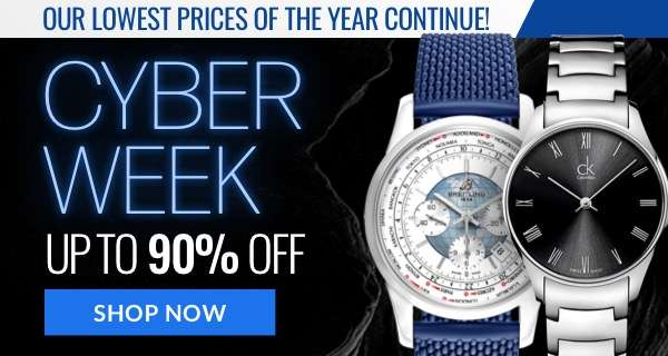 Cyber Week – Up to 90% Off