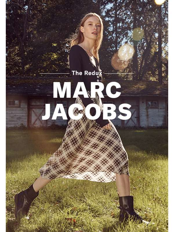 Marc Jacobs - Presenting the highly anticipated reissue of the designer's iconic 1993 grunge collection. How's that for a #tbt?