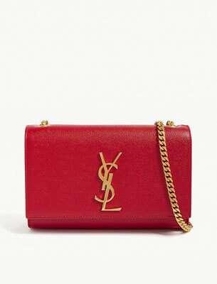 Kate small monogram leather shoulder bag