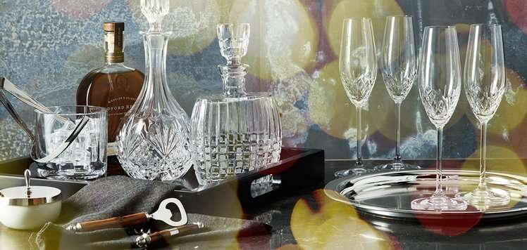 Up to 75% Off Barware to Serveware