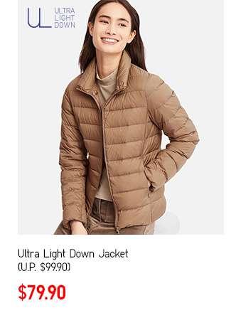 Women's Ultra Light Down Jacket at $79.90