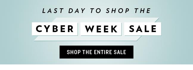 Shop Cyber Week Sale