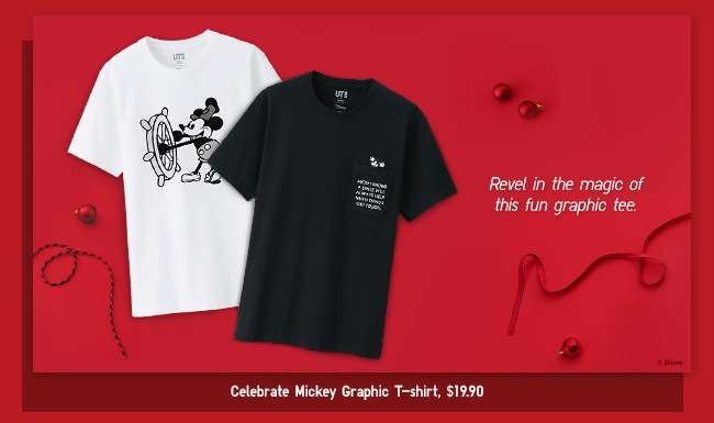Celebrate Mickey Graphic T-Shirt $19.90