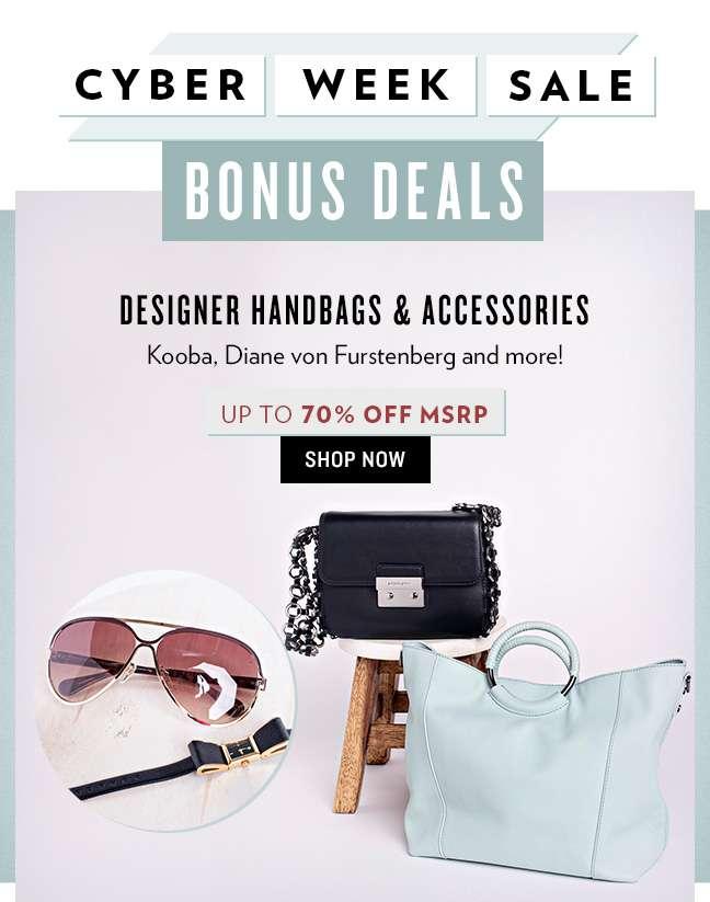 Shop Designer Handbags and Accessories