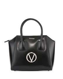 Valentino By Mario Valentino Bridgette Palmellato Leather Shoulder Bag