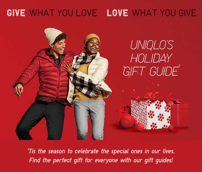 Uniqlo Holiday Gift Guide