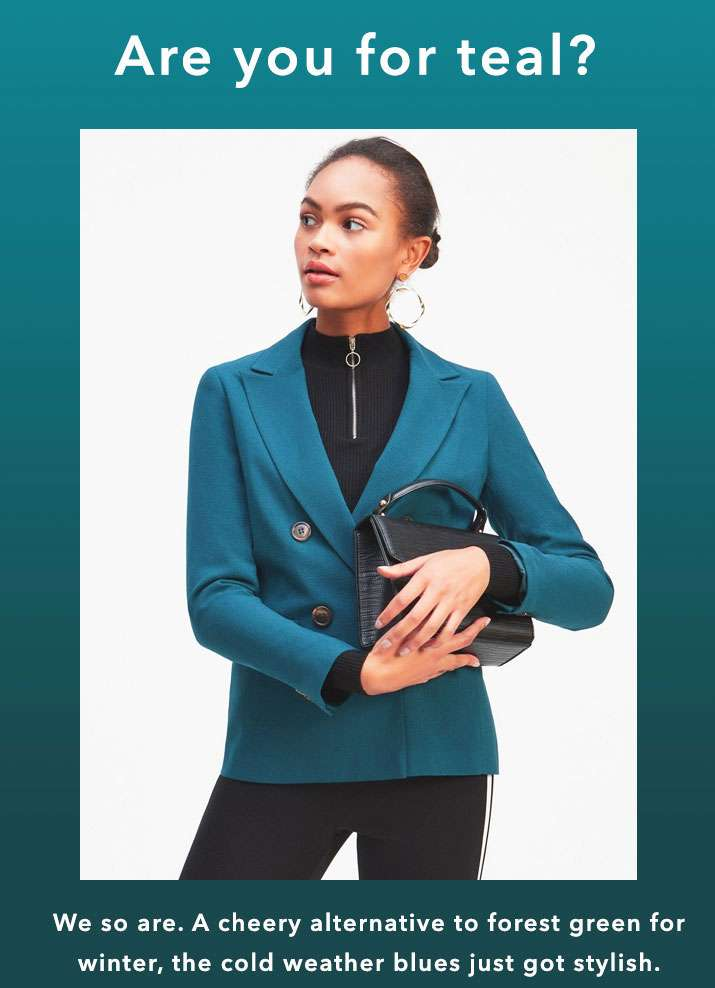 Are you for teal? - Shop now