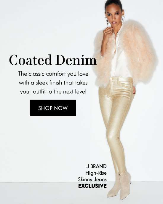 Shop Coated Denim