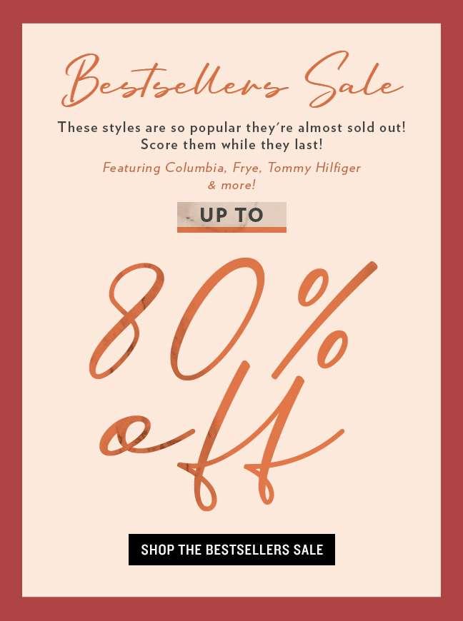 Shop Bestsellers Sale
