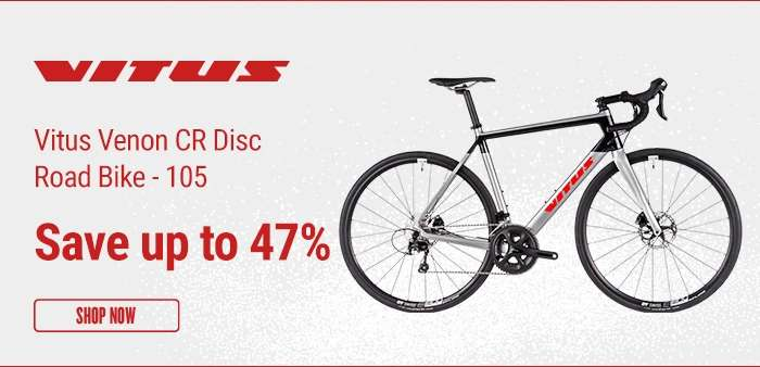 Vitus Venon CR Disc Road Bike - 105