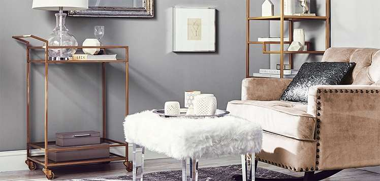 Velvet to Faux-Fur Furniture