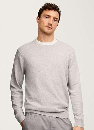 Men's Supima Cotton Crew Neck Sweater