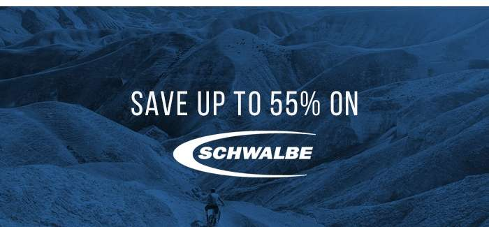 Save up to 55% on Schwalbe Tyres