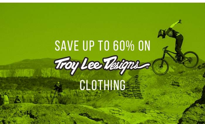 Save up to 60% on Troy Lee Designs Clothing