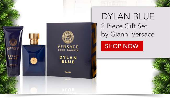 Dylan Blue 2 piece gift set by Gianni Versace. Shop Now
