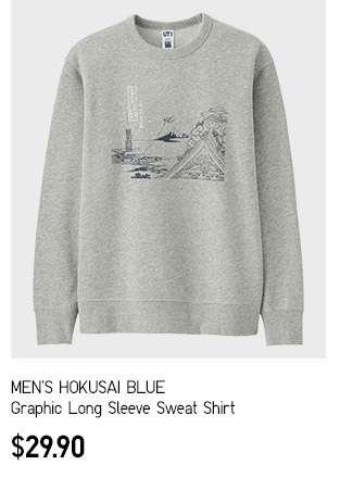 Men's Hokusai Blue