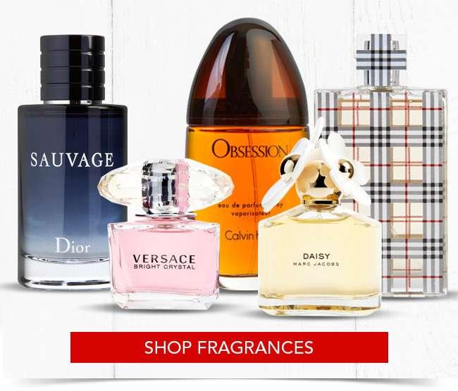 Shop Fragrances sales collection.