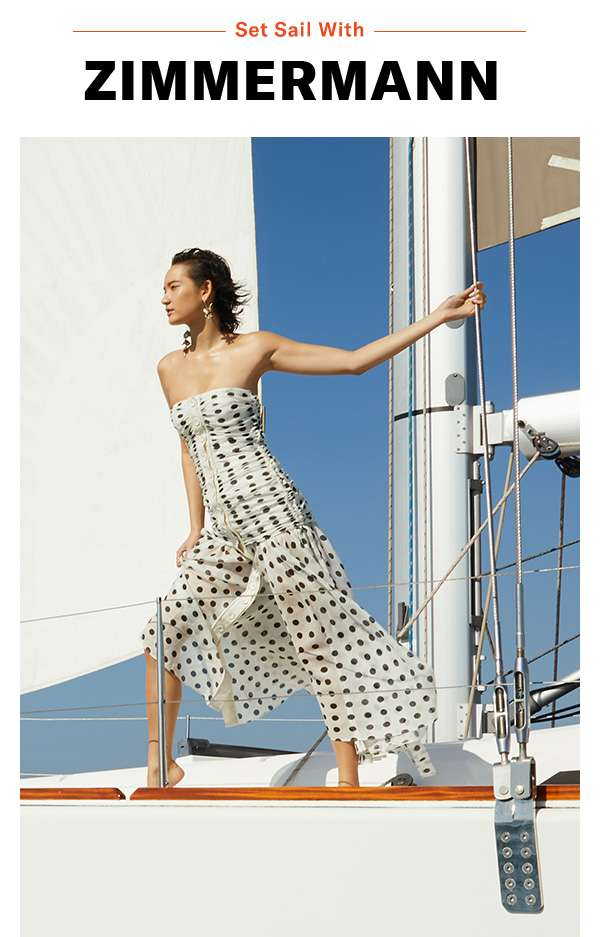 On the horizon: fresh florals, polka dots, and animal prints (vacation outfits, here we come)!