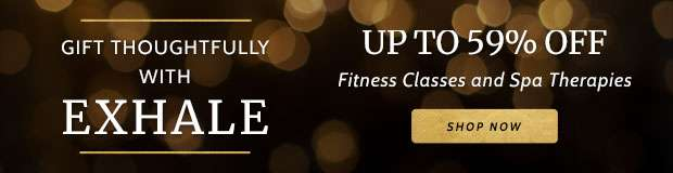 Up to 59% Off Exhale