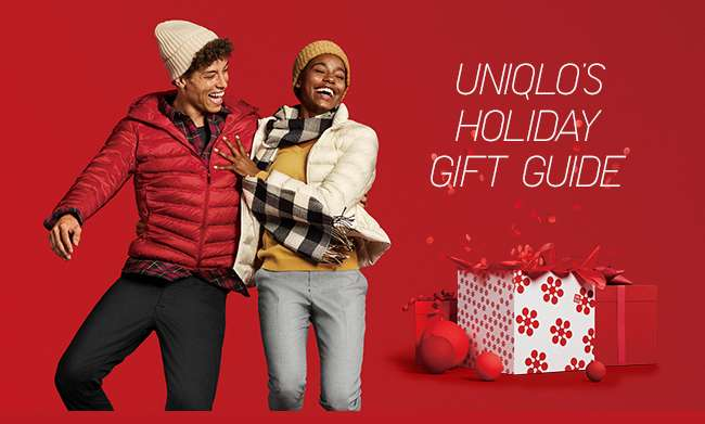 UNIQLO'S HOLIDAY GIFT GUIDE