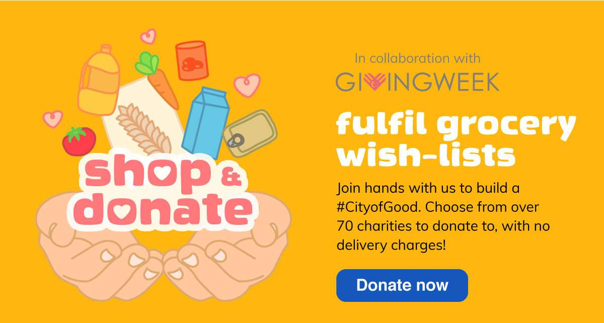 Fulfil grocery wish-lists with Shop and Donate