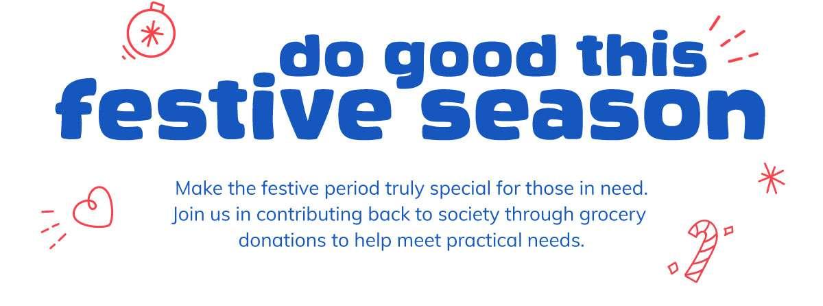 Do good this festive season