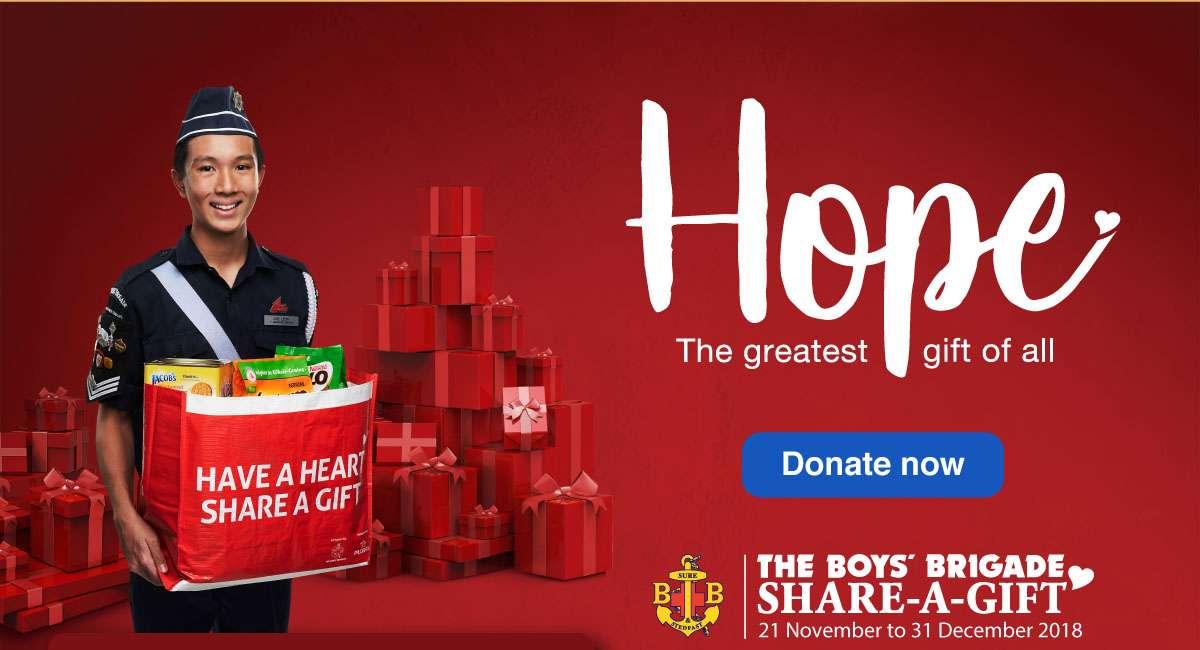 Boys' Brigade - Share-a-Gift