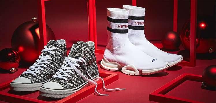 Designer Shoe Remix With VETEMENTS