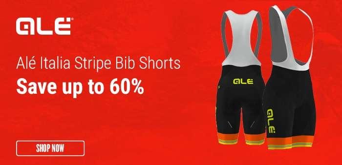 Alé Italia Stripe Bib Shorts