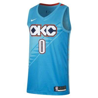 Russell Westbrook City Edition Swingman (Oklahoma City Thunder)