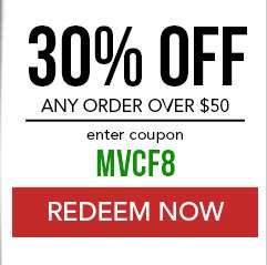 $30 off any order over $50. Enter coupon MVCF8 at checkout. Coupon expires 12/8/18