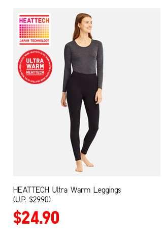 Women's HEATTECH Ultra Warm Leggings at $24.90