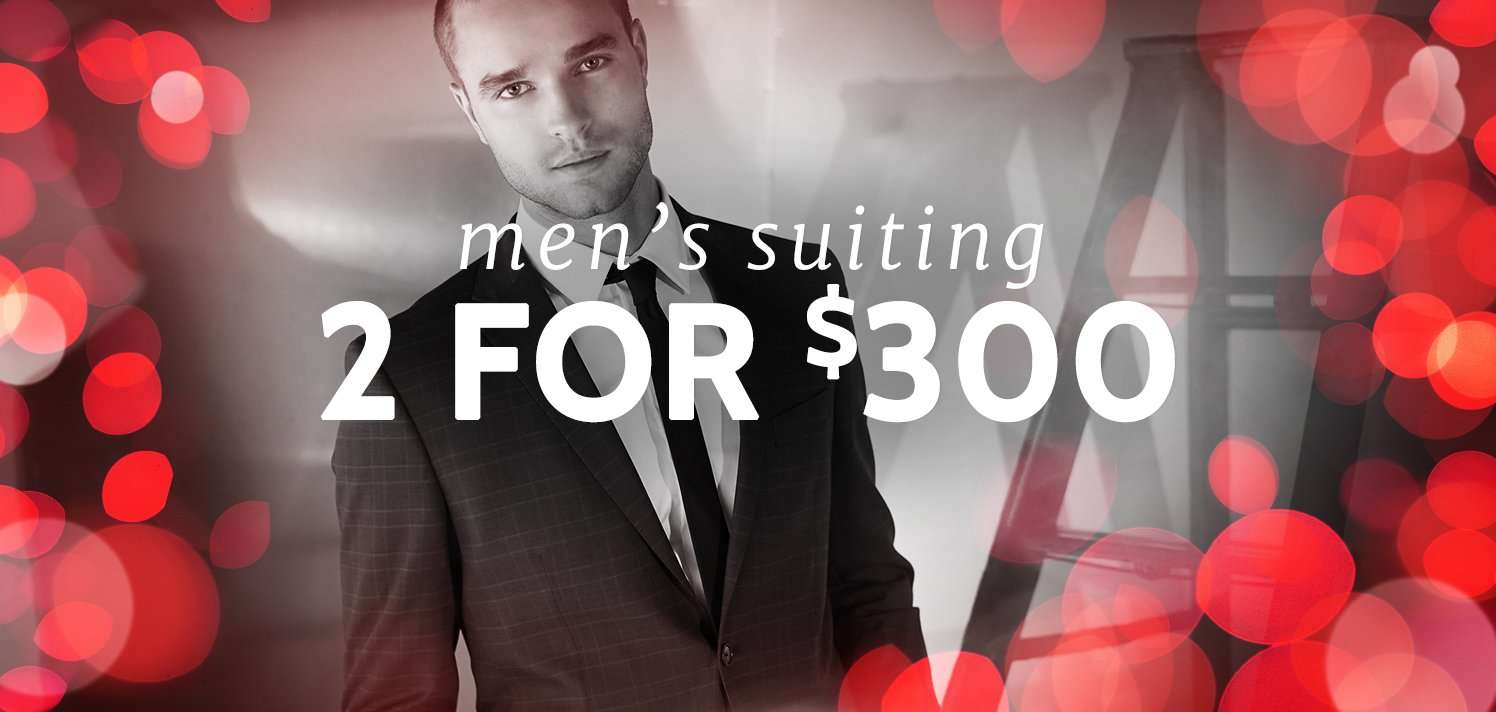 Your 24-Hour Suiting Special