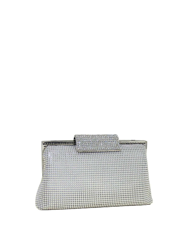 Crystal Clasp Clutch Bag