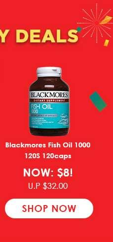 Blackmores Fish Oil 1000 120S 120caps
