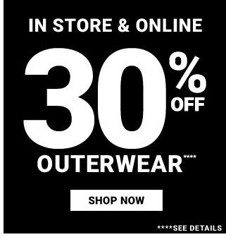 30% Outerwear