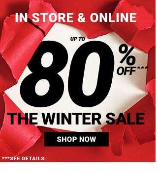 80% Off Sale