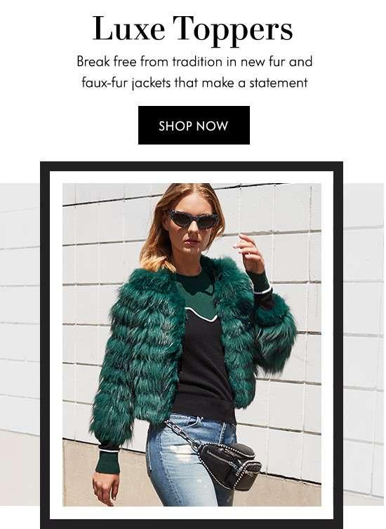 Fur & Faux Fur Jackets