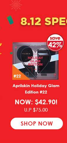 Aprilskin Holiday Glam Edition #22