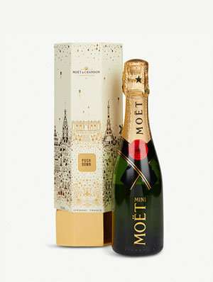 Brut Imperial  champagne Christmas cracker