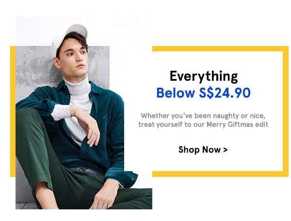 Everything Below S$24.90