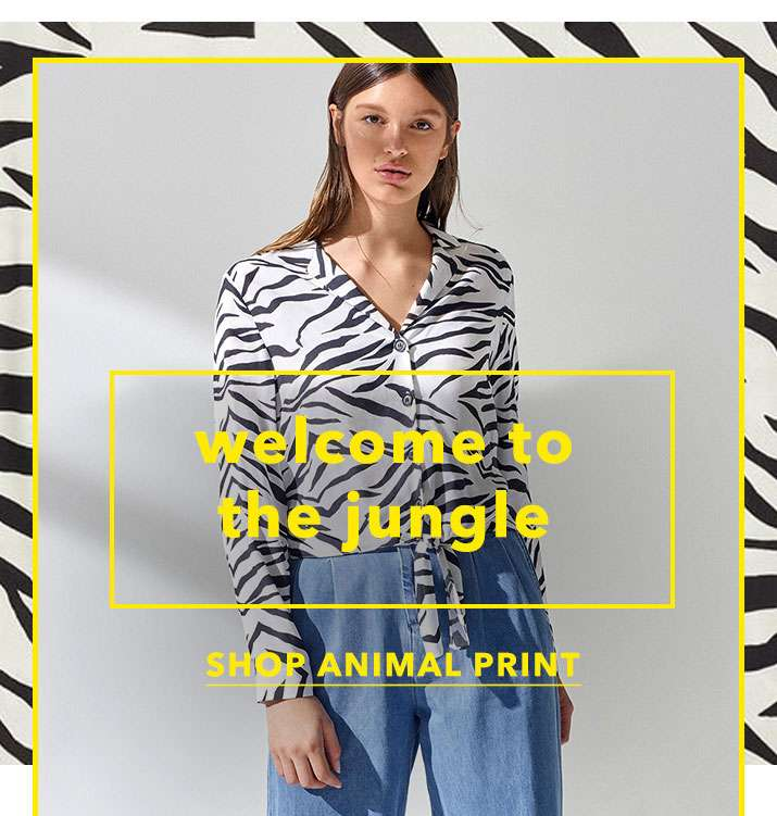 Welcome to the jungle - Shop animal print